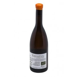 Bottle berretes orange wine 2015