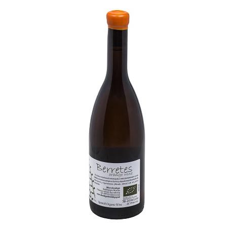Bottle berretes orange wine 2016